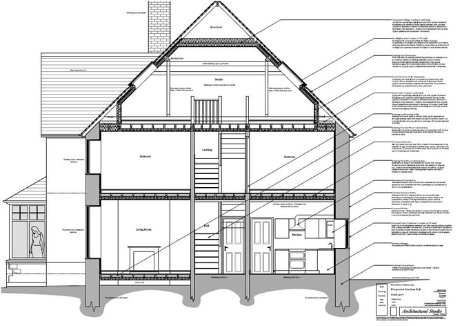 Conversion of Dwelling into Three Town Houses
