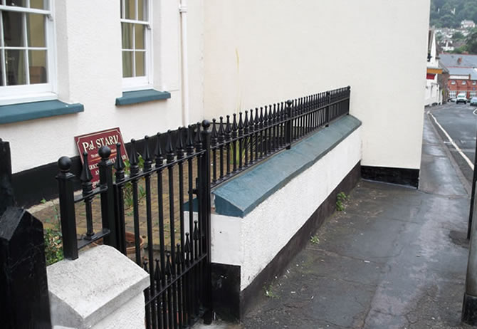 Installation of Railings to Grade II listed Dwelling
